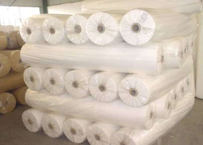 Colorful Waterproof Spun Bonded Raw Material For Non Woven Fabric , 10gsm-320gsm