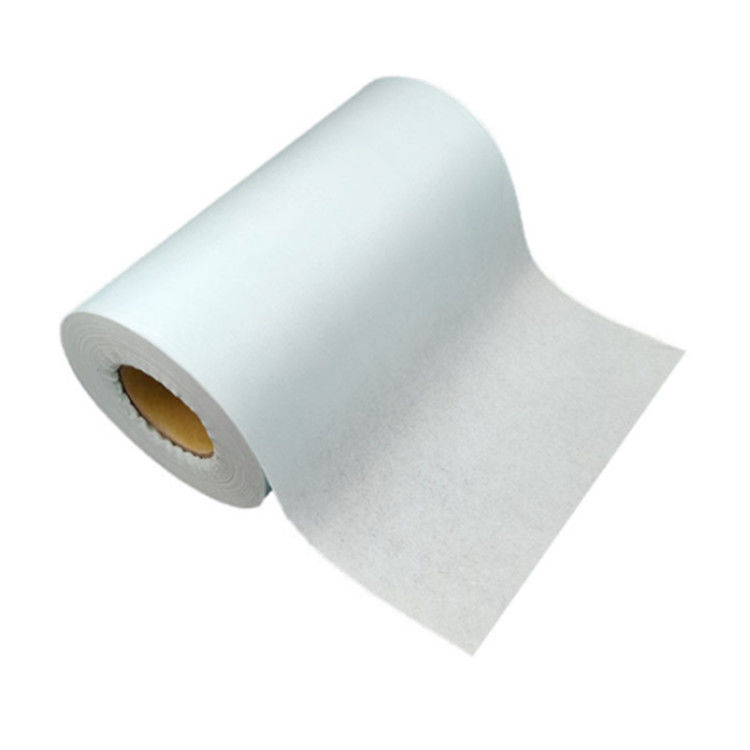 Spunlace Non Woven Cotton Fabric Roll for Medical Sanitation , 25G/M2~80G/M2